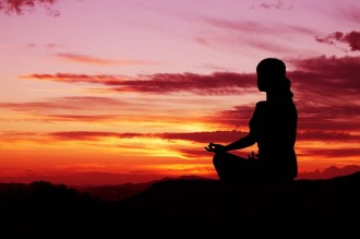 Yoga Meditation Sunrise