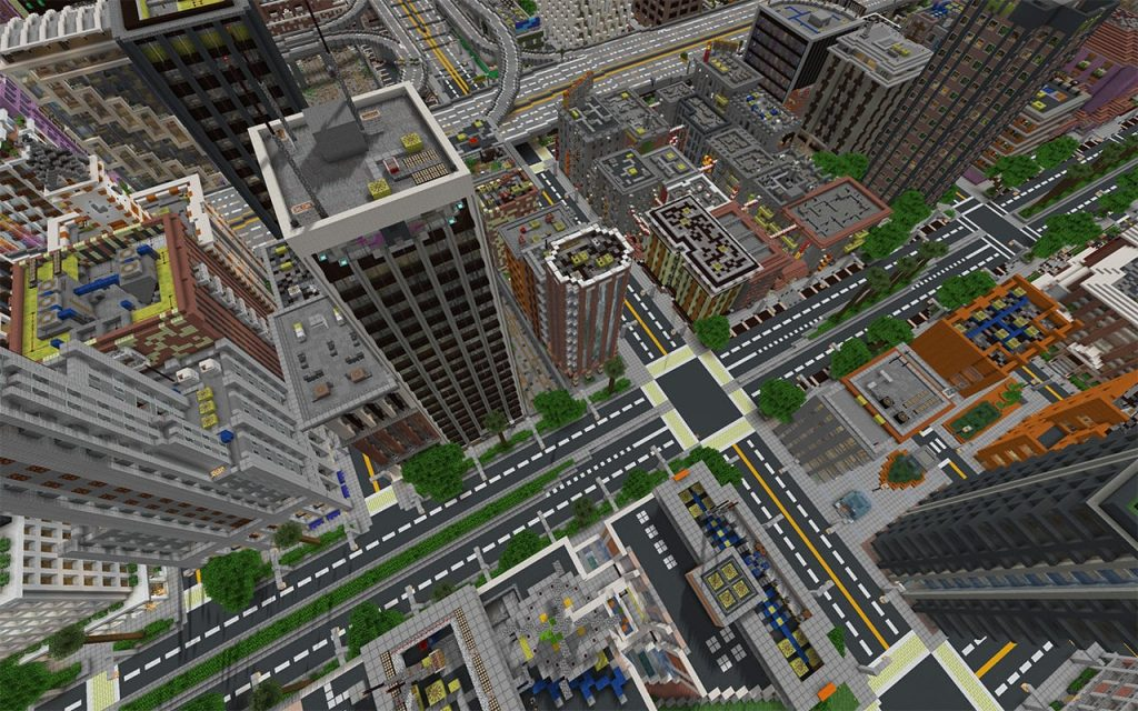 City of Greenfield - Overhead View