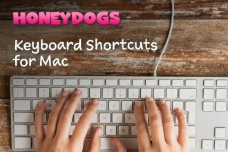 Keyboard Shortcuts for the Mac