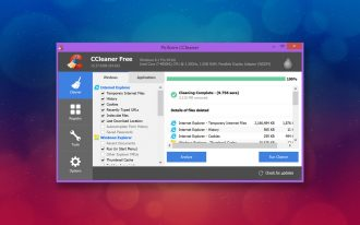 Ccleaner by piriform